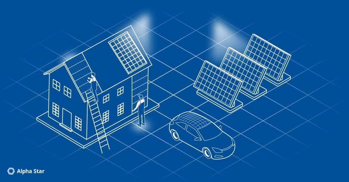 Ein Lichtschein für die Solarenergie
