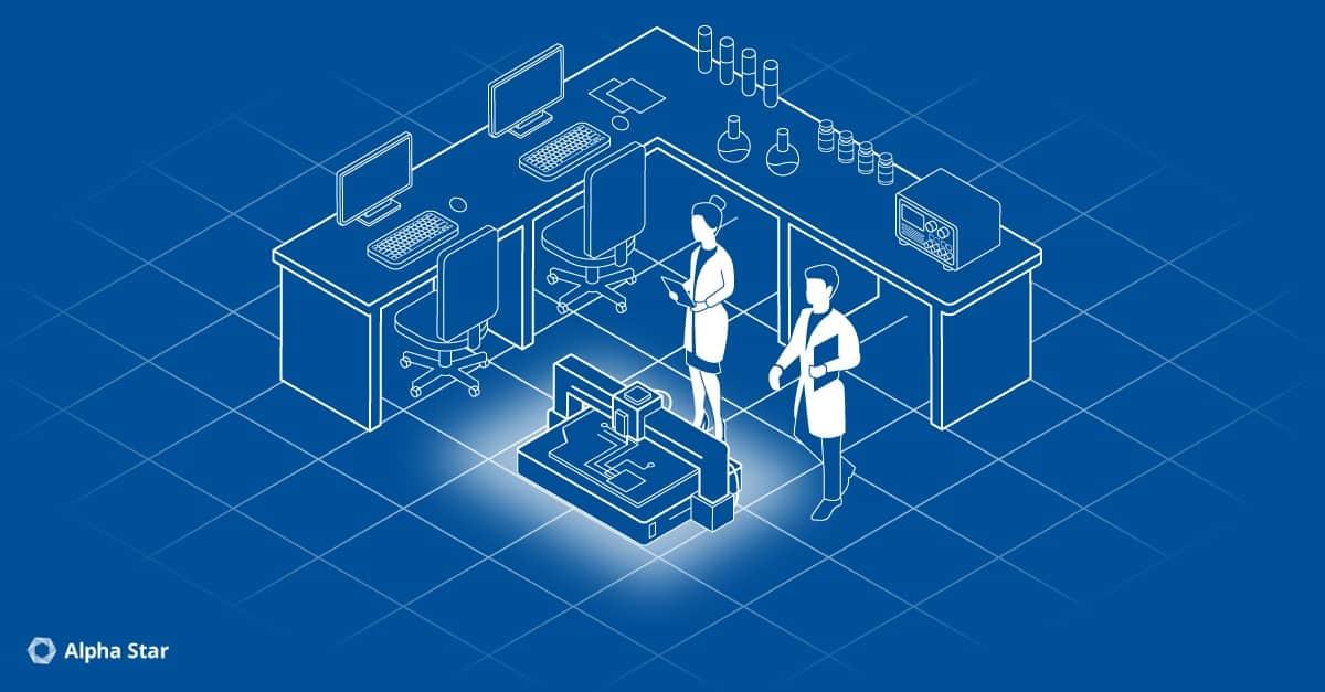 Innovation, mit Laser gebrannt