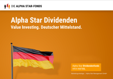 Fondspräsentation Alpha Star Dividendenfonds