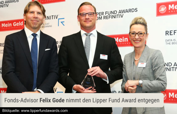 Lipper Fund Awards from Refinitiv