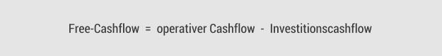 Free-Cashflow