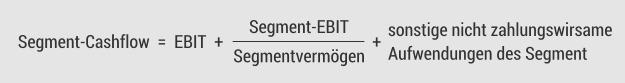 Segment-Cashflow