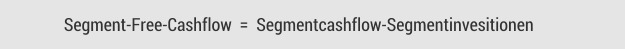 >Segment-Free-Cashflow